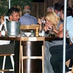 Shakira and Gerard Pique at dinner in Barcelona 93161