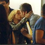 Shakira PDA with Gerard Pique at her concert in Barcelona  86425