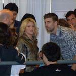 Shakira PDA with Gerard Pique at her concert in Barcelona  86428