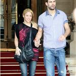 Shakira & Gerard Pique Leaving the Ritz Hotel in June 95655