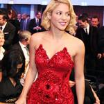 Shakira attends the Golden Ball 2010 FIFA Gala 2010 in Zurich 102255