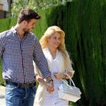 Shakira and Gerard Pique PDA in Barcelona 83361