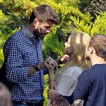 Shakira and Gerard Pique PDA in Barcelona 83369
