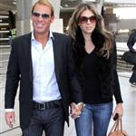 Shane Warne and Elizabeth Hurley arrive in South Africa July 2011 95464