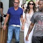 Shane Warne and Elizabeth Hurley in New York City 95467