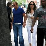 Shane Warne and Elizabeth Hurley in New York City 95469