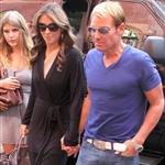 Shane Warne and Elizabeth Hurley in New York City 95474