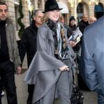 Sharon Stone shopping in Paris January 2011 76656