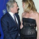 Sharon Stone and Michael Douglas at police event in New York  57000