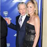 Sharon Stone and Michael Douglas at police event in New York  57004