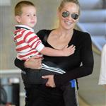 Sharon Stone and her son Quinn arrive in Paris 119319
