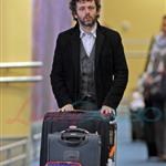 Michael Sheen arrives in Vancouver to shoot New Moon 38501