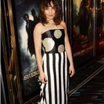 Noomi Rapace attends the European film premiere of  Sherlock Holmes: A Game Of Shadows in London 100210