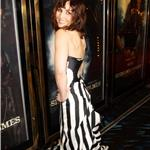 Noomi Rapace attends the European film premiere of  Sherlock Holmes: A Game Of Shadows in London 100213
