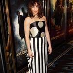 Noomi Rapace attends the European film premiere of  Sherlock Holmes: A Game Of Shadows in London 100215