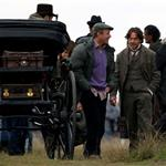 Robert Downey Jr Jude Law Guy Ritchie shooting Sherlock Holmes 2 in London  71026