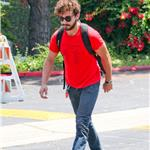 Shia LaBeouf heads to Cafe Med in West Hollywood 91617
