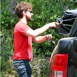 Shia LaBeouf heads to Cafe Med in West Hollywood 91618