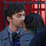 Shia LaBeouf desperately kissing girlfriend Carolyn Pho in Vancouver 97485
