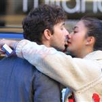 Shia LaBeouf desperately kissing girlfriend Carolyn Pho in Vancouver 97486