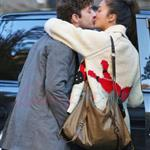 Shia LaBeouf desperately kissing girlfriend Carolyn Pho in Vancouver 97492