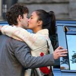 Shia LaBeouf desperately kissing girlfriend Carolyn Pho in Vancouver 97495