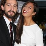 Shia LaBeouf and Carolyn Pho at the Hollywood premiere of Lawless  124056