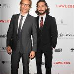 Shia LaBeouf and Guy Pearce at the Hollywood premiere of Lawless  124060