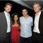Paul Martin, Jamie-Lynn Sigler, Sidney Crosby and Jordan Staal in Cannes 2011 85637