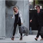 Jude Law and Sienna Miller stuck in LA together  59166