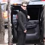 Sienna Miller and Jude Law leave his New York apartment 51514