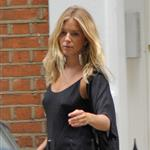 Sienna Miller in London worries about career while Balthazar Getty in LA  24136