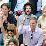 Sienna Miller and Tom Sturridge get close in Anna Wintour's box at French open 86812