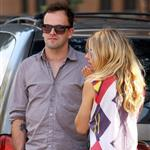 Sienna Miller and Jonny Lee Miller in New York 45355