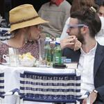 Sienna Miller with Tom Sturridge in Portofino  113499