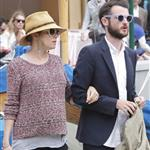 Sienna Miller with Tom Sturridge in Portofino  113501