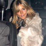 Sienna Miller looks drunk stumbling out of War Child after party 33103