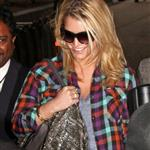 Jessica Simpson at LAX arriving back from India last week 49872