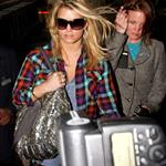 Jessica Simpson at LAX arriving back from India last week 49873