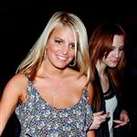 Jessica and Ashlee Simpson out and about the other night 43911