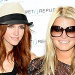 Jessica Simpson and Ashlee Simpson celebrate Pete Wentz's birthday in Vegas 48162