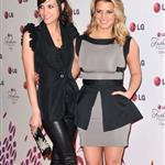 Jessica and Ashlee Simpson at an LG event  61792