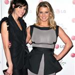 Jessica and Ashlee Simpson at an LG event  61797