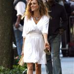 Sarah Jessica Parker begins work on Sex & the City sequel in New York 45814