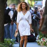 Sarah Jessica Parker begins work on Sex & the City sequel in New York 45813