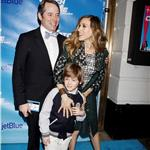 Sarah Jessica Parker and Matthew Broderick take son James Wilkie to the Broadway opening of Catch Me If You Can 83020