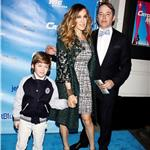 Sarah Jessica Parker and Matthew Broderick take son James Wilkie to the Broadway opening of Catch Me If You Can 83024