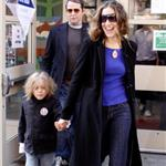 Sarah Jessica Parker and Matthew Broderick as they vote for Barack Obama together as a family  26943