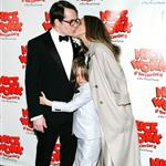 Matthew Broderick, Sarah Jessica Parker and James Wilke Broderick at the Broadway opening night of Nice Work If You Can Get It  112302