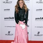 Sarah Jessica Parker at the 2012 amfAR New York Gala at Cipriani Wall Street 105324